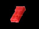 JST RCY Leergehäuse Buchse 2 polig, rot