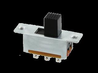 Mini Schiebeschalter 30 V 1A DPDT Chassismontage