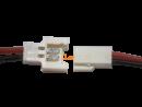 Molex Buchse/Stecker 2 polig mit je 10 cm Silikon Kabel...
