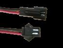 JST SM Buchse/Stecker 2 polig mit je 15 cm Kabel - RM...