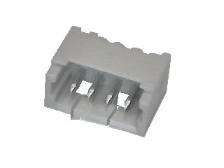 Micro-JST Stiftleiste 4 polig gerade Printmontage