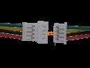 Micro JST Buchse/Stecker 4 polig mit je 10 cm Kabel - RM...