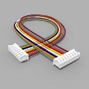 Kabel mit 2 JST Buchsen ZH 8 polig mit 20 cm Litze - RM...