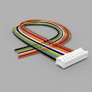 JST Buchse ZH 9 polig mit 20 cm Kabel 30 AWG - RM 1,50 mm