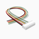 JST Buchse XH 8 polig mit 30 cm Kabel 28 AWG - RM 2,50 mm