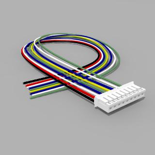 JST Buchse PH 9 polig mit 30 cm Kabel 28 AWG - RM 2,00 mm