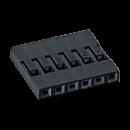 Harwin M20 Leergehäuse 6 polig
