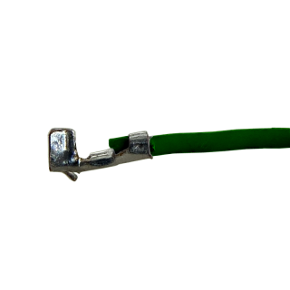 Litze mit einem Crimpkontakt für Molex PicoBlade Buchse, UL1571, AWG30, 20cm, grün