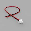 Micro JST Buchse 2 polig mit 20 cm Kabel SR - RM 1,25 mm