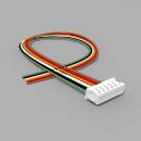 JST Buchse ZH 6 polig mit 20 cm Kabel 30 AWG - RM 1,50 mm
