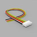 JST Buchse PH 6 polig mit 30 cm Kabel 28 AWG - RM 2,00 mm