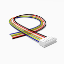 JST Buchse PH 7 polig mit 30 cm Kabel 28 AWG - RM 2,00 mm