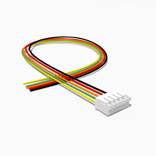JST Buchse PH 5 polig mit 20 cm Kabel 28 AWG - RM 2,00 mm