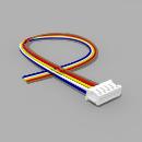 JST Buchse ZH 5 polig mit 20 cm Kabel 30 AWG - RM 1,50 mm