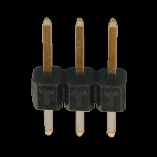 Stiftleiste 2,54 mm 3 polig gerade