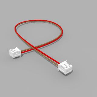 Kabel mit 2 JST Buchsen ZH 2 polig mit 20 cm Litze - RM 1,50 mm