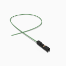 Harwin Buchse 1 polig mit 30 cm Kabel 28 AWG GN - RM 2,54 mm