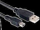 USB 2.0 Kabel, A Stecker auf Mini B Stecker, 80 cm