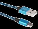 USB 2.0 Kabel, A Stecker auf Micro B Stecker, 100 cm