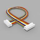 Kabel mit 2 JST Buchsen ZH 7 polig mit 20 cm Litze - RM...