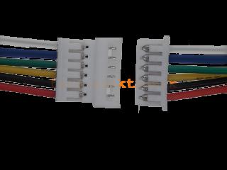 Micro JST Buchse/Stecker 6 polig mit je 15 cm Kabel - RM 1,25 mm