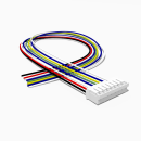 JST Buchse PH 8 polig mit 30 cm Kabel 28 AWG - RM 2,00 mm