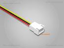 JST XH komp. Stecker 3 polig mit je 20 cm Kabel - RM 2,5 mm