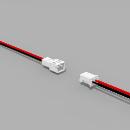 JST PH komp. Buchse/Stecker 2 polig mit je 10 cm Kabel 26...