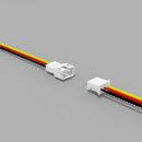 JST PH komp. Buchse/Stecker 3 polig mit je 10 cm Kabel 26...