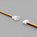 JST PH komp. Buchse/Stecker 4 polig mit je 10 cm Kabel 26...