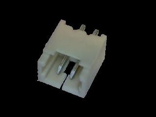 Micro-JST Stiftleiste 2 polig gerade Printmontage