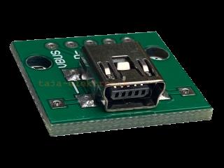 Mini USB Adapterplatine