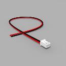 JST Buchse PH 2 polig mit 30 cm Kabel 22 AWG - RM 2,00 mm