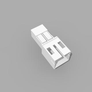 JST PH kompatibles Leergehäuse Stecker 2 polig