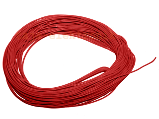 10 m Litze rot 30 AWG UL Style 1571
