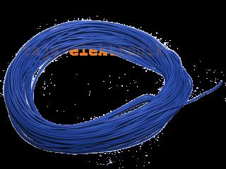 10 m Litze blau 30 AWG UL Style 1571