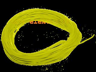 10 m Litze gelb 30 AWG UL Style 1571