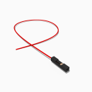 Harwin Buchse 1 polig mit 50 cm Kabel 28 AWG rot - RM...