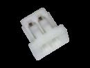 Micro-JST Leergehäuse 2 polig