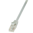 Patchkabel Cat.5e U/UTP, grau, 0,25m