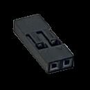 Harwin M20 Leergehäuse 2 polig