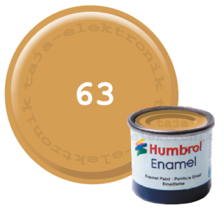 Humbrol 63 Enamel Farbe 14 ml MATT
