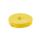 Kabelbinder aus Klettband, 4m * 16mm, gelb
