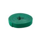 Kabelbinder aus Klettband, 4m * 16mm, grün