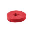 Kabelbinder aus Klettband, 4m, rot