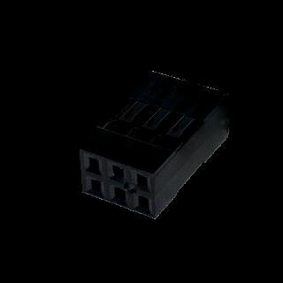 Harwin M20 Leergehäuse 3 x 2 polig