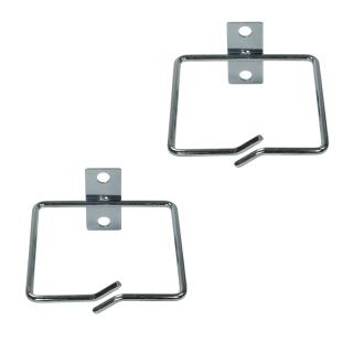 """Kabelführungsbügel 80 x 80 mm für 19"""" Schränke, 2 Stück"""
