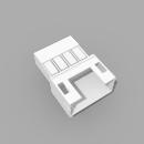 JST PH kompatibles Leergehäuse Stecker 4 polig