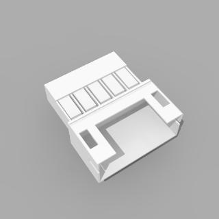 JST PH kompatibles Leergehäuse Stecker 5 polig