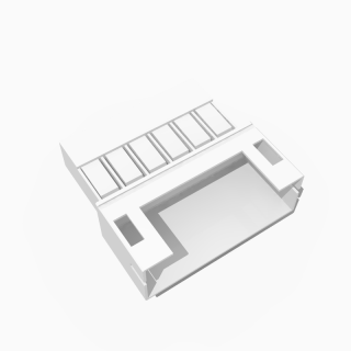 JST PH kompatibles Leergehäuse Stecker 6 polig